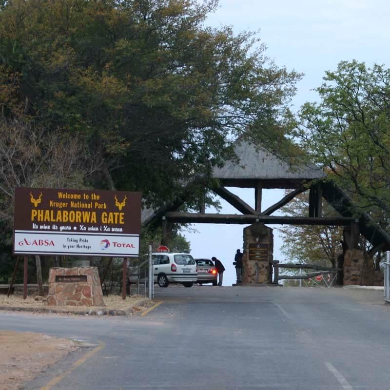 Phalaborwa Gate - The Kruger National Game Reserve